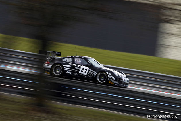 Test days on the Paul Ricard track