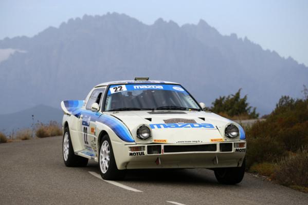 The Mazda at the Orange Ventoux Classic