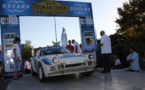 Tour de Corse : our 4 cars at the finish!