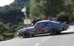 La Porsche en action en Corse