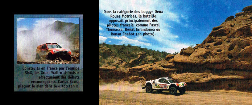 Le Dakar 2012 vu par 4x4 Magazine
