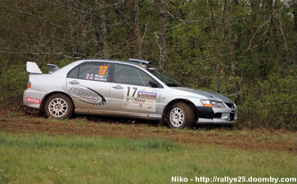 Un rallye aux conditions difficiles...