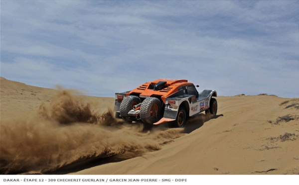 Stage 12 : the game of rally-raid