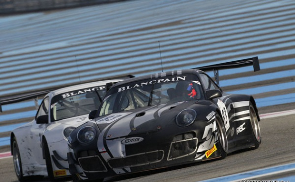 Test days on the Paul Ricard track