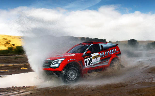 Leading the China Grand Rally