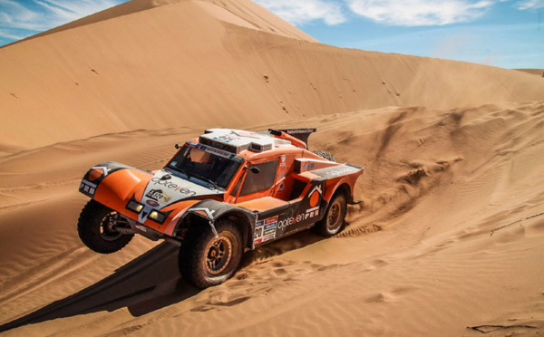 Leg 4 : Dunes at last!